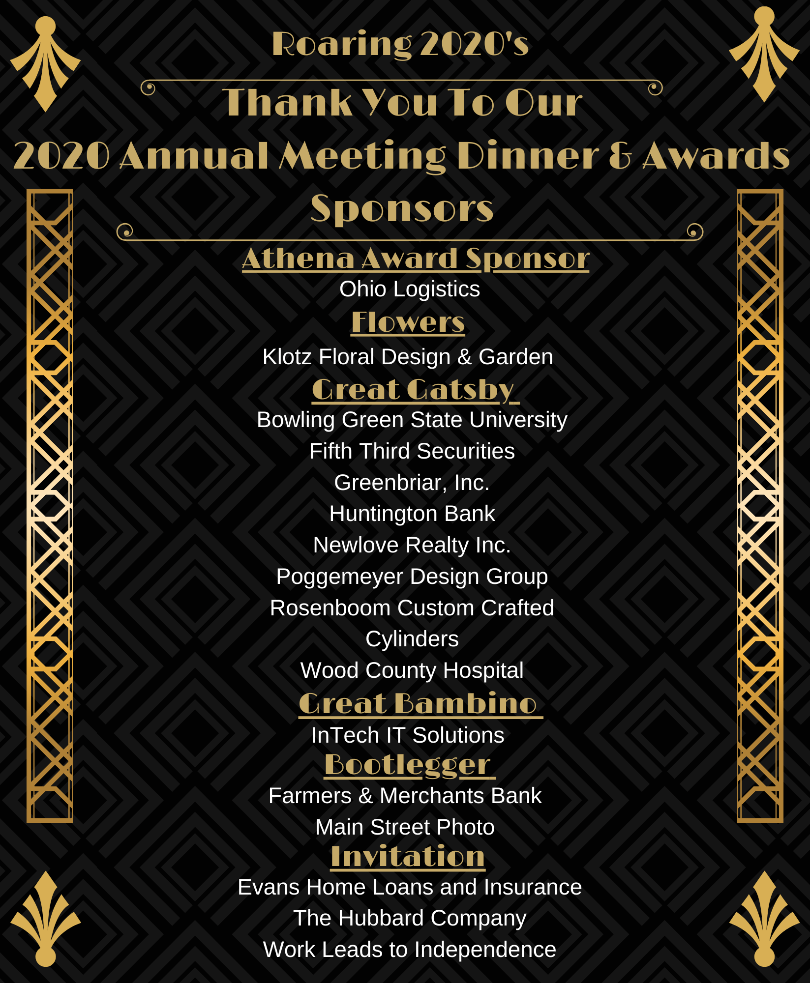 Annual meeting dinner and awards